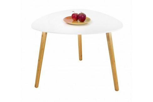 Konferenční stolek Summer - větší (bílá) Konferenční stolky