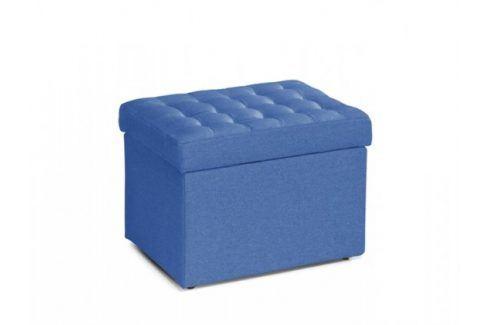 Taburet Surprise obdélník modrá ÚP Taburety