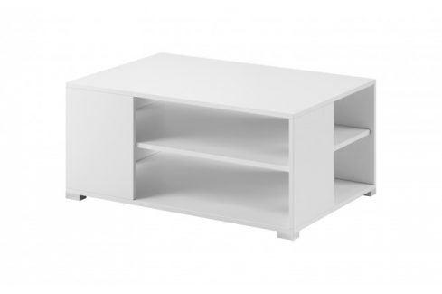 Konferenční stolek Simple (bílá, bílá mat) Konferenční stolky