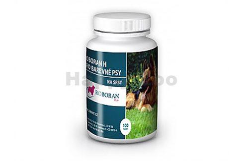 ROBORAN H - pro barevné psy (100tbl) Vitamíny, léčiva, doplňky stravy pro psy