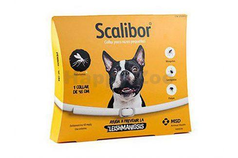 SCALIBOR antiparazitní obojek 48cm Antiparazitika pro psy