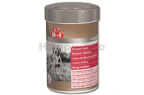 8in1 pivovarské kvasnice pro psy (260tbl.) Vitamíny, léčiva, doplňky stravy pro psy