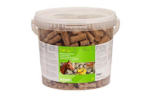 KETRIS Delizia pochoutka pro koně banán 3kg Pamlsky pro koně