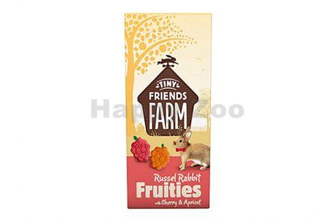 SUPREME Tiny Farm Snack Russel Fruitees Rabbit 120g Pamlsky pro hlodavce