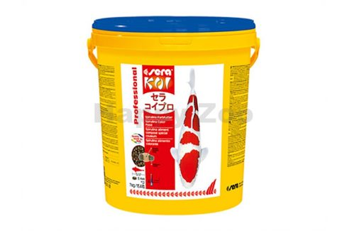 SERA Pond KOI Professional Spirulina-Color 7kg Krmivo pro bazénové ryby