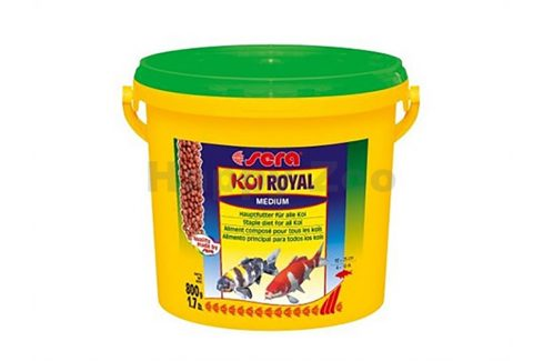 SERA Pond KOI Royal Medium 3,8l Krmivo pro bazénové ryby
