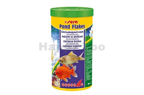 SERA Pond Flakes 3,8l Krmivo pro bazénové ryby