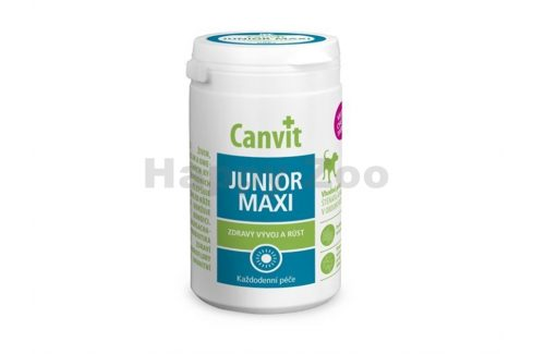CANVIT Junior Maxi pro psy 230g Vitamíny, léčiva, doplňky stravy pro psy