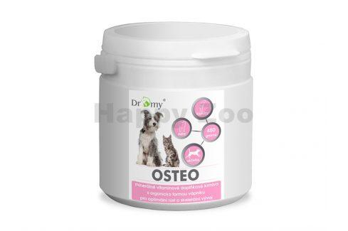 DROMY Osteo 450g Vitamíny, léčiva, doplňky stravy pro kočky
