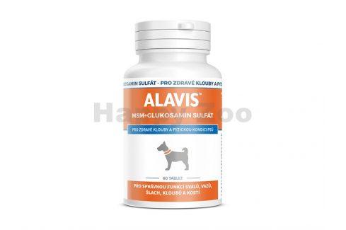 ALAVIS MSM + Glukosamin sulfát (60tbl) Vitamíny, léčiva, doplňky stravy pro psy