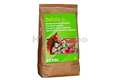 KETRIS Delizia malina pochoutka pro koně 1kg Pamlsky pro koně