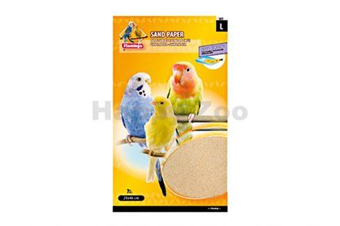Pískové podložky do klece FLAMINGO 28x46cm (7ks) Podestýlky do klecí pro ptáky