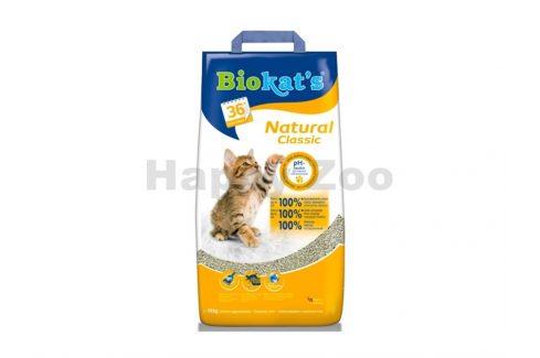 BIOKATS Natural Classic 8kg Steliva, kočkolity, podestýlky pro kočky